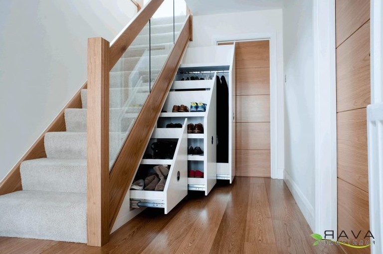 Kitchen Under Stairs Storage ~ Under stair storage ideas that make your house look