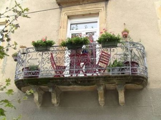 French Country Balcony