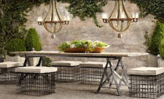 French Country Patio Ideas