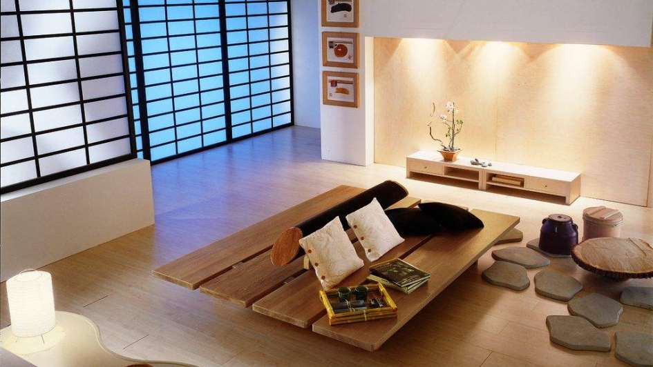 Beachy Japanese Dining Table