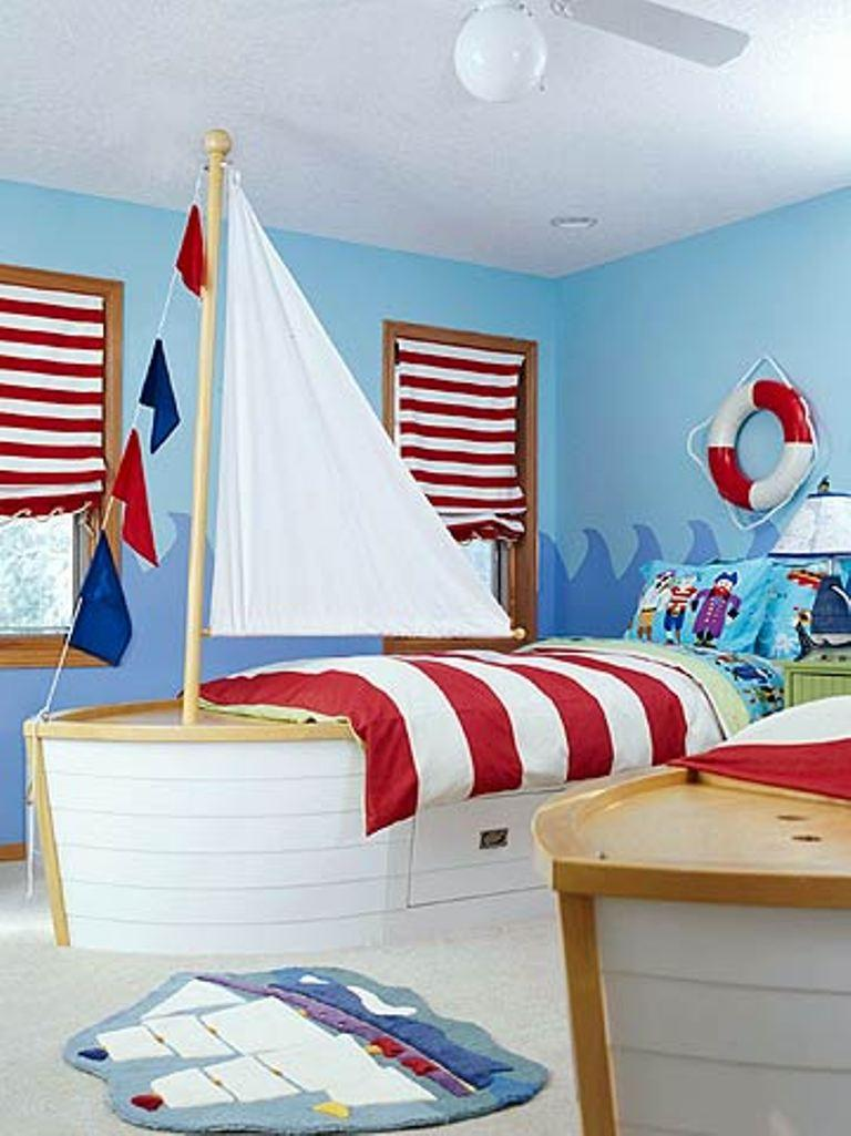 Sailor Bedroom Idea