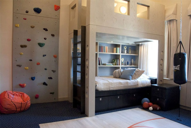 Adventurous Boys Bedroom