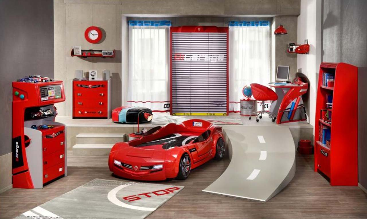 Racing Bedroom Ideasoys bedroom ideas