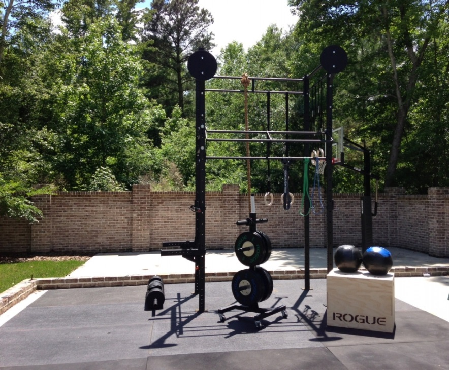 Home Gym Ideas Blend with The Nature