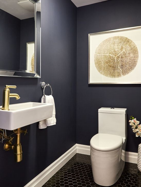Bold Powder Room