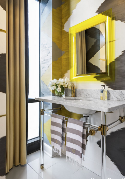 Sleek Powder Room