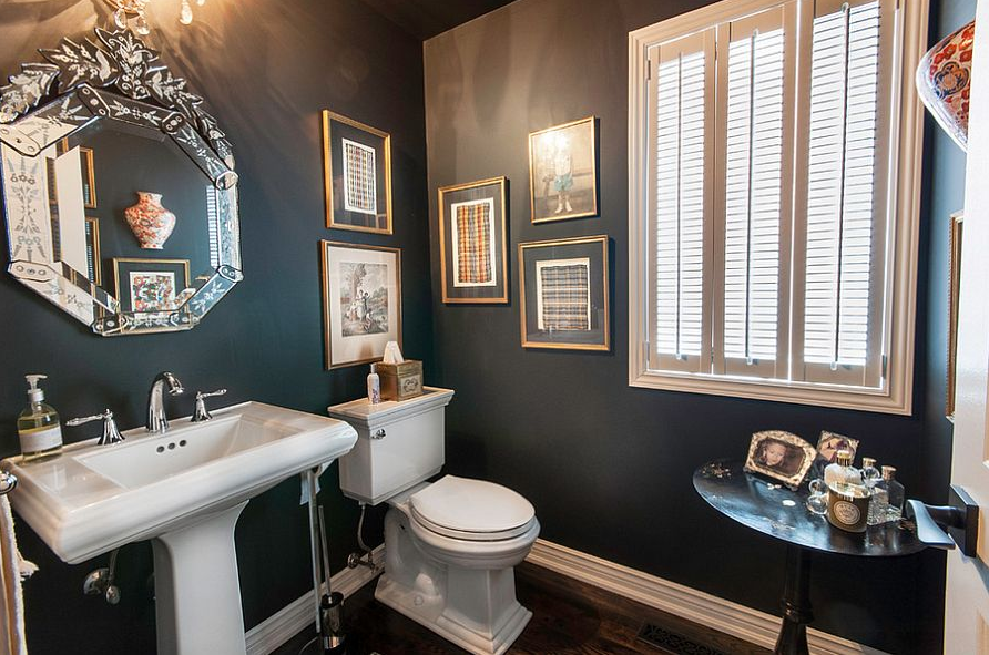 Vintage Powder Room