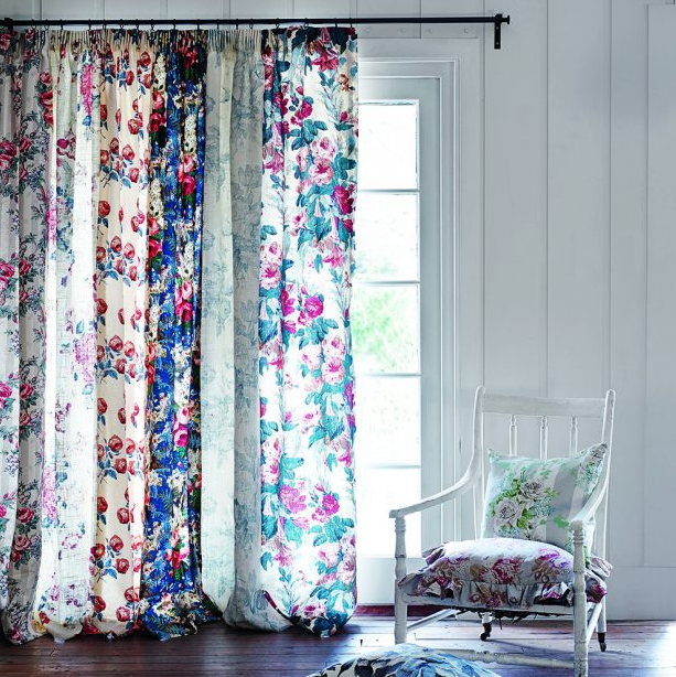 The Pretty Voile Fabric Panels