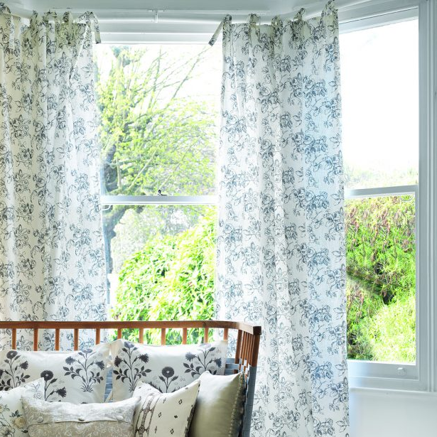 The Tie Top Curtains