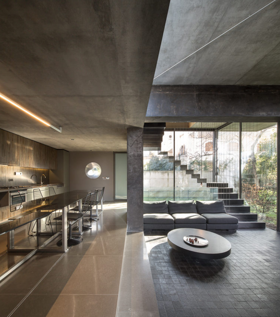 Architectural Open Kitchen