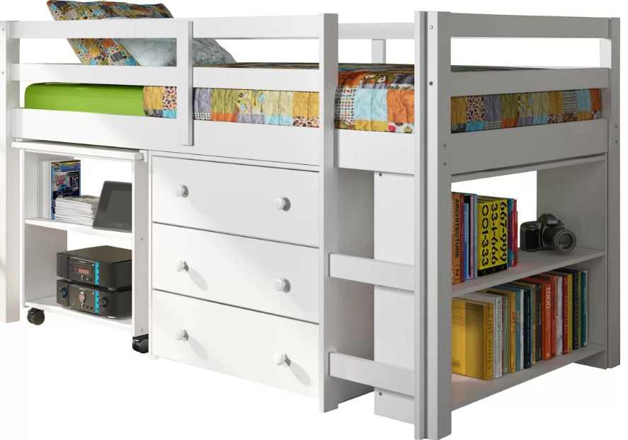 Loft Beds With Shelf