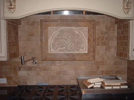Rustic Subway Kitchen Backsplash