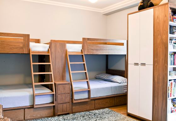 18 loft beds for adults ideas for limited space avionale for Limited space bedroom ideas