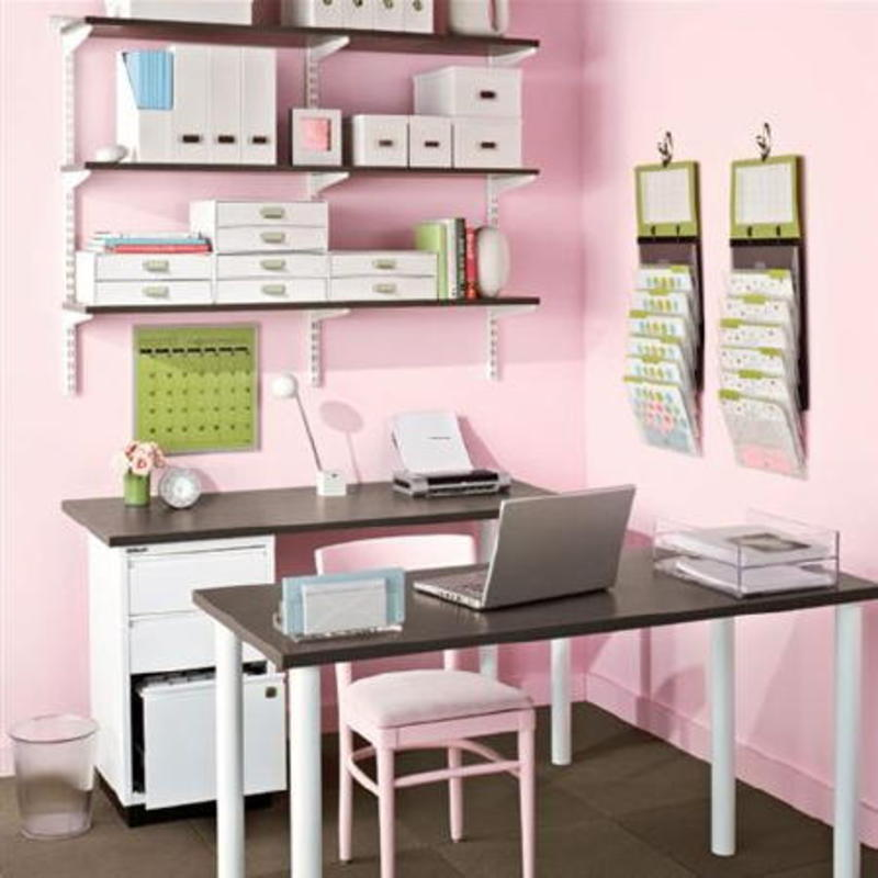 Home Office Ideas - Play with The Colors