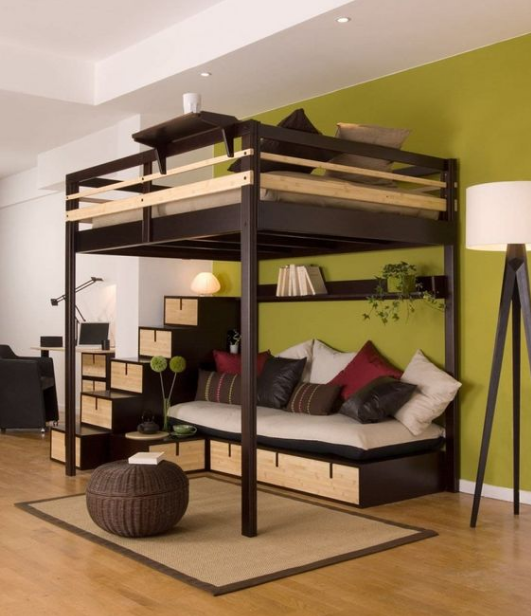 18 Loft Beds For Adults Ideas For Limited Space Avionale