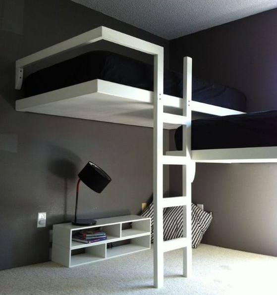 Loft Bed for a Small Room