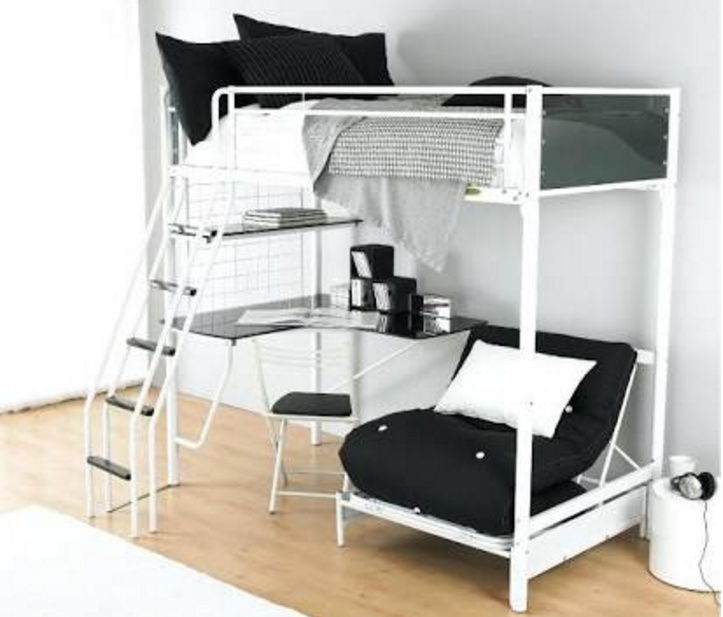 Minimalist Loft Bed