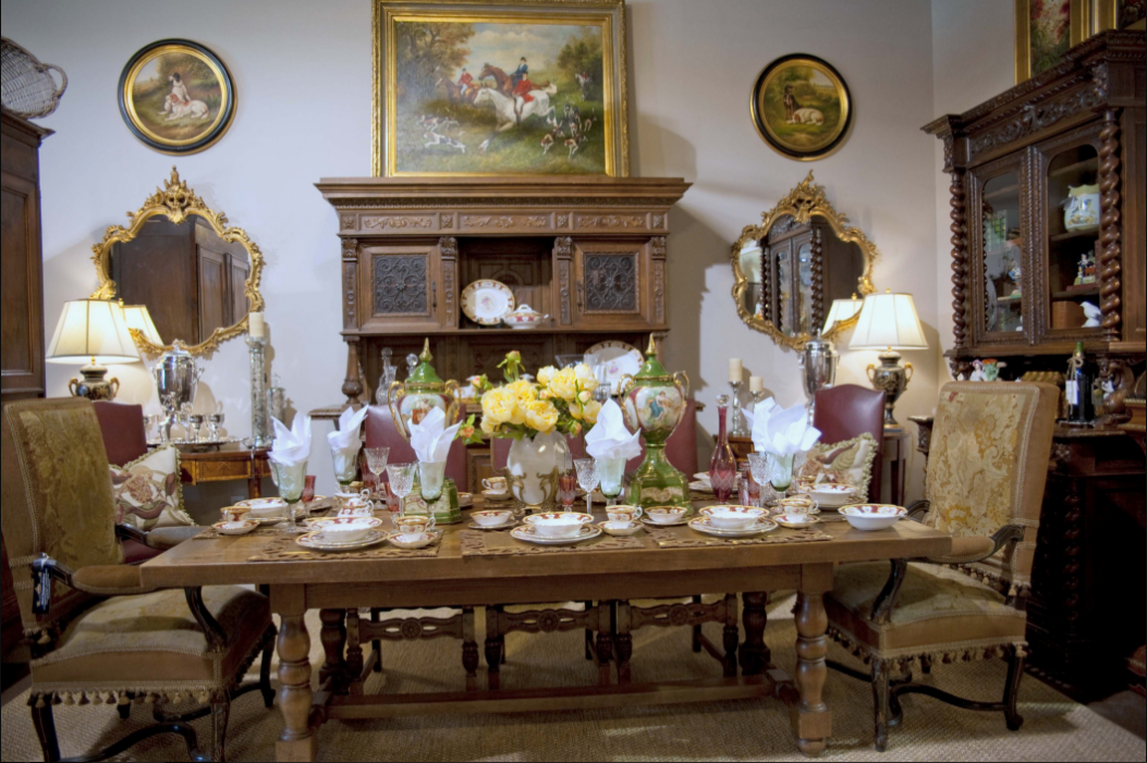 French Country Decor for Dining Room